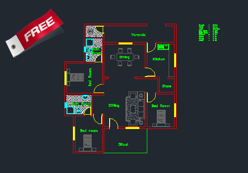 Free Autocad Dwg House Plans Idea Home And House