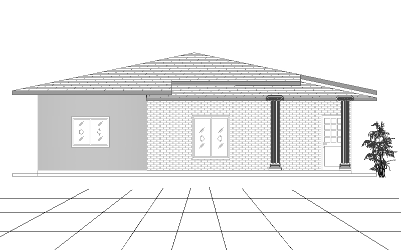 four bedroom single story house plan 5 bedroom house plans 2 story home planning ideas 2017