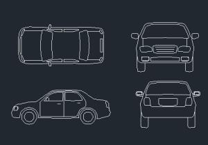 car cad blocks