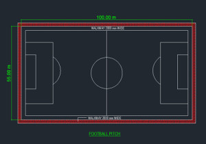 football court CAD drawing free download form dwg net