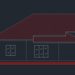 Four Bed room house plan