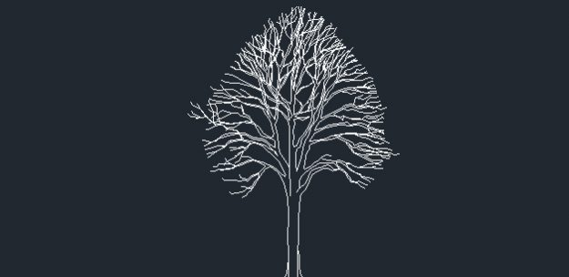 Tree cad block free download