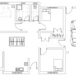 European Style Single Story Small House Plan 111