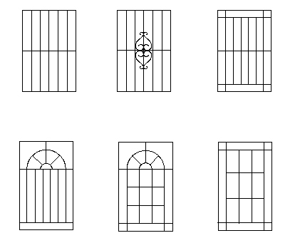 Aluminium, Cast Aluminium or Iron Window Grills Design