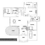 European style two bedroom house plan