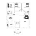 Three Bed Room House Small House Plan