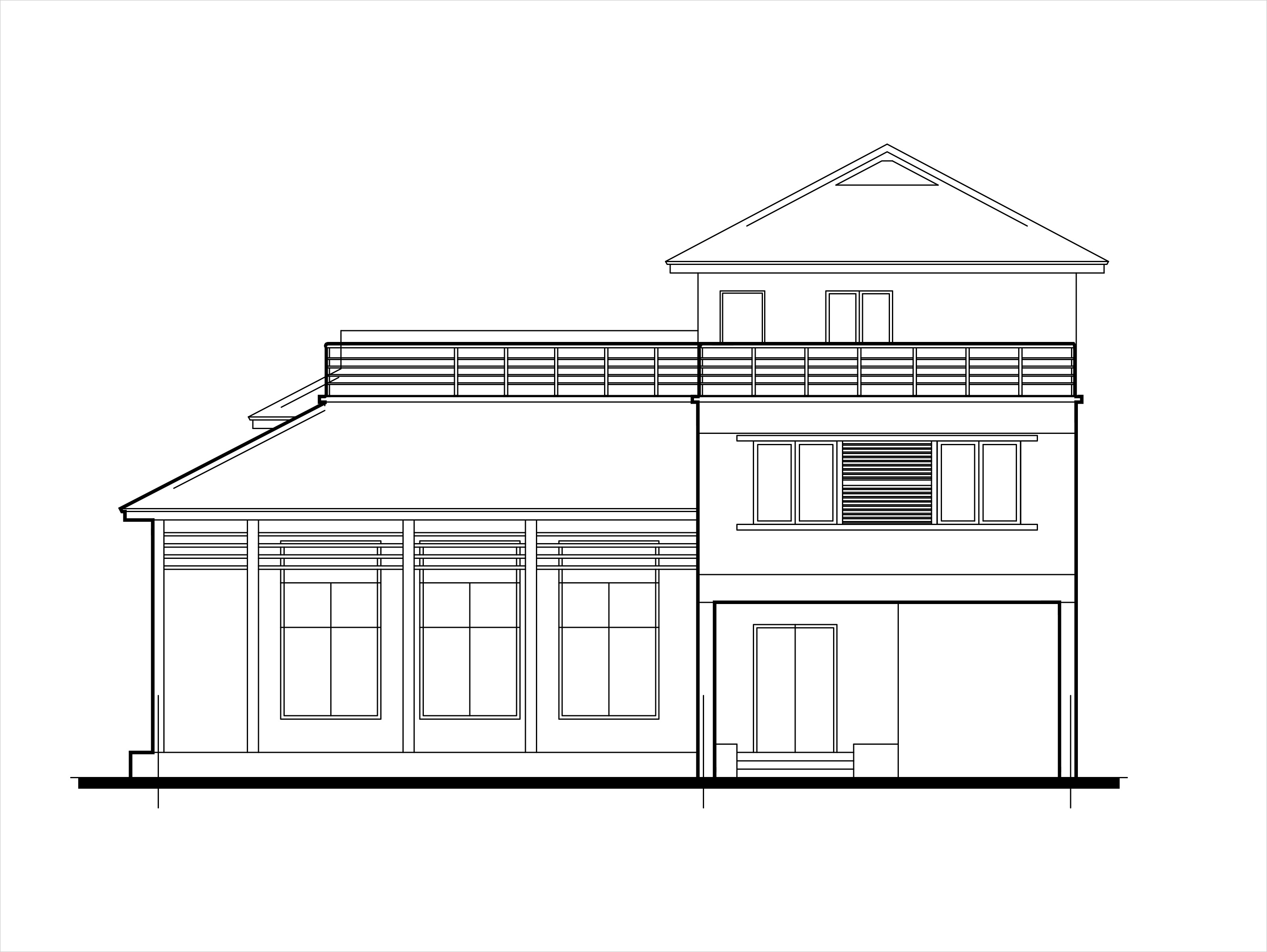 Plan To Elevation Converter : Double story low cost house plans dwg net cad blocks