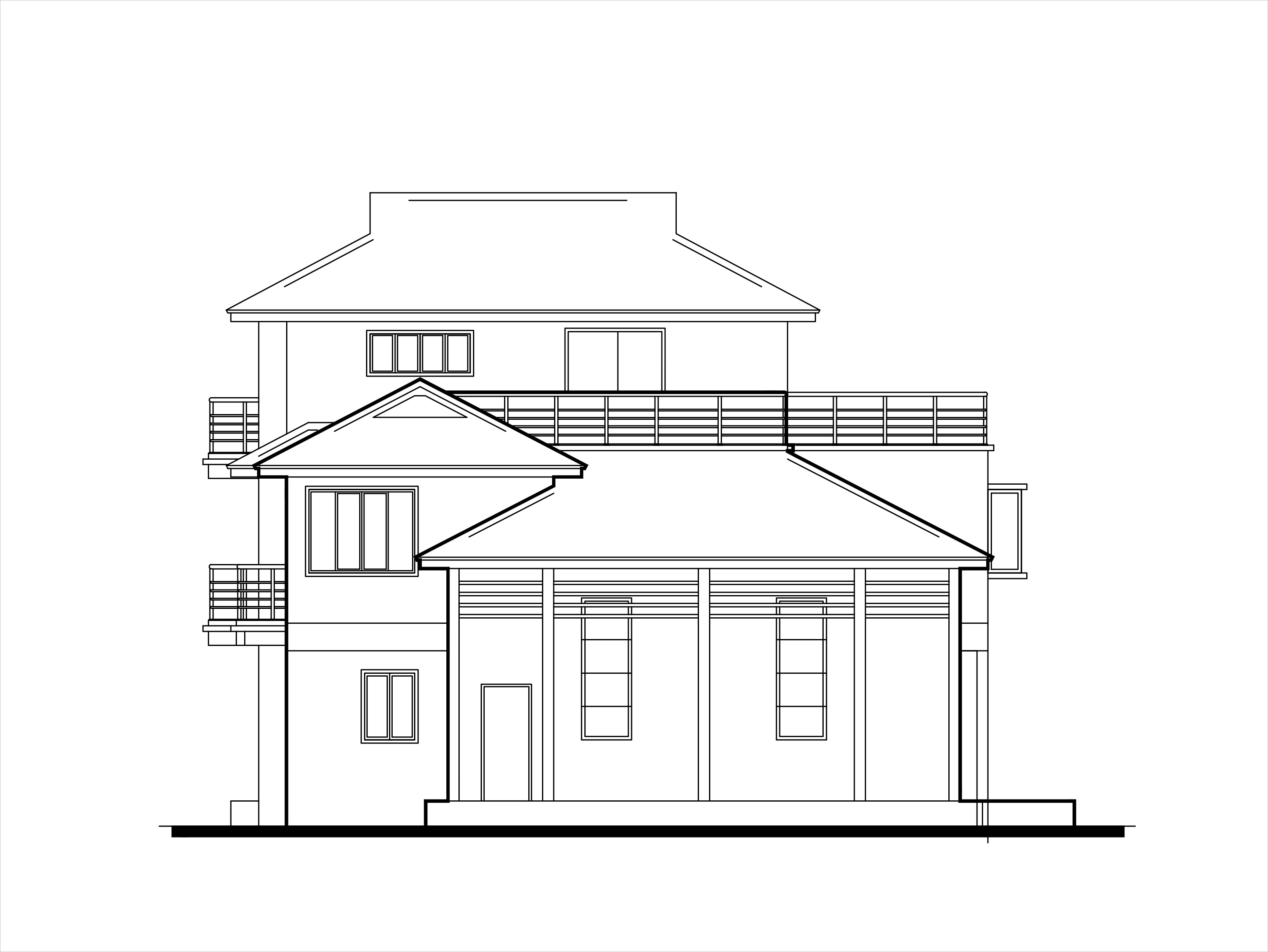 Double story low cost house plans DWGNET.COM