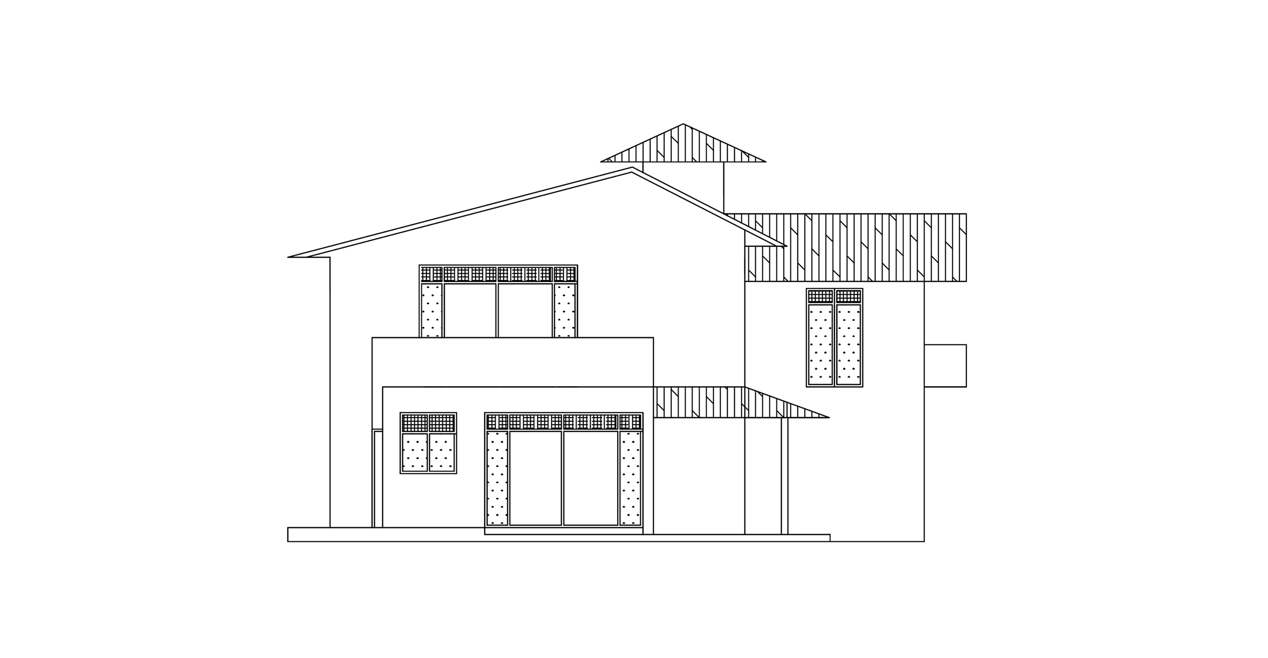 Front Elevation 2017 : Double story archives dwg net cad blocks and house plans
