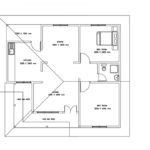 Two bedroom single story house plan