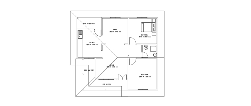 http://www.dwgnet.com/wp-content/uploads/2017/07/Single-story-two-bed-room-house-plan-1.jpg