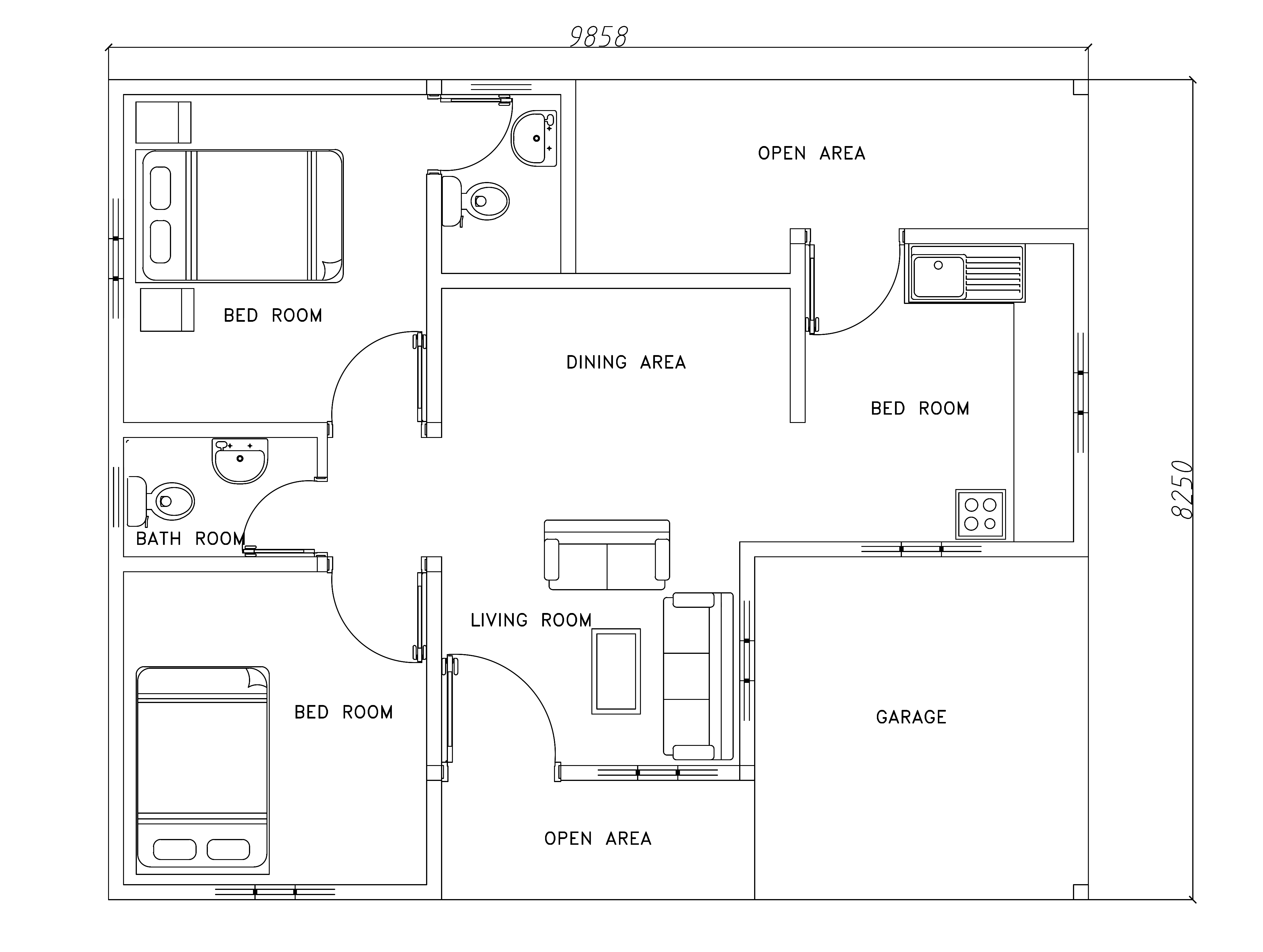 House plans cad files free for House plan cad file