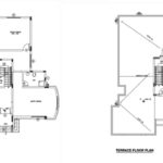 Two bed room middle east type house plan